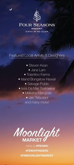 Shop Local at Moonlight Market - http://fullofevents.com/hawaii/event/shop-local-at-moonlight-market/ #hawaiievents #Shop Local at Moonlight Market