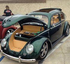 Imagem embutida Vw Bugs, Bicycle For Two, Van Vw, Vw Super Beetle, Kdf Wagen, Vw Classic, Vw Vintage, Vw Beetles, Hot Cars