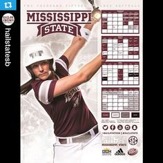 @hailstatesb・・・Check out poster three featuring @erikagaul!  The fourth features @katiegentle11, but we need your help on Twitter to unlock it. #HailState