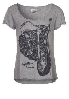 Hilfiger Denim - ITTY - T-shirt print - Grijs