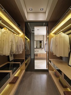 14 Walk In Closet Designs For Luxury Homes The best of luxury closet design in a selection curated b Walk In Closet Design, Bedroom Closet Design, Master Bedroom Closet, Wardrobe Design, Closet Designs, Wardrobe Room, Wardrobe Cabinets, Wardrobe Storage, Open Wardrobe