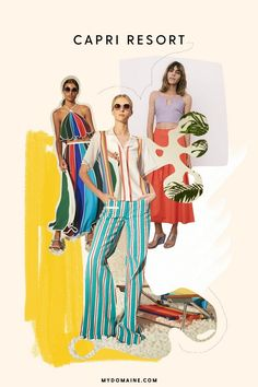 Watching models walk down the spring 2017 runways was like being transported to 1960s Capri, with ruffles and bold rainbow stripes at the forefront. Designers like Rosie Assoulin, Altuzarra, and...