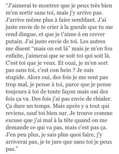 Bad Quotes, Text Quotes, Words Quotes, Love Quotes, Inspirational Quotes, Tu Me Manques, Bff, Love Text, French Quotes