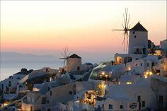 Oia, Santorini #Santorini - Click image to find more Home Decor Pinterest pins
