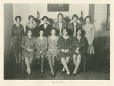 @Delta Zeta at the University of Pennsylvania 1928-32