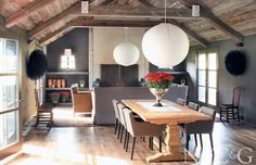 Tour a 19th-Century Farmhouse Tricked Out for 21st-Century Living - New York Cottages & Gardens - March 2014 - New York, NY