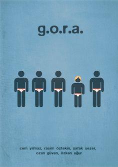 Minimal Turkish Movie Posters by Emrah Eski, via Behance