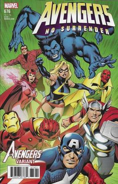 Marvel Avengers comic issue 676 Limited variant