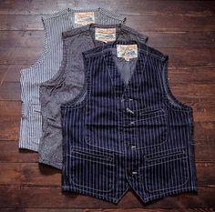 Mens Fashion Rugged – The World of Mens Fashion Gilet Costume, Fashion Graphic, Fashion Design, Men's Waistcoat, Fashion Forecasting, Boho, Denim Fashion, Work Wear, Menswear