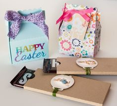Easter Bags and Boxes using your Silhouette from Scrapbook Update