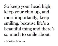 and there's so much to smile about.