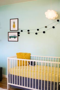 happy + eclectic little boy's nursery