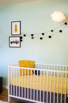 happy + eclectic little boy's nursery