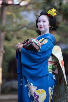 Maiko Mikako of Gion Kobu