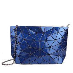 Women Clutch Laser Baobao Bags Casual Tote Fashion Chains Messenger  Shoulder Bag Bao Bao Sac A Main Bags Female 4dc7d427a405b