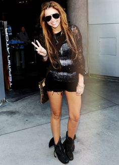Miley Cyrus old style