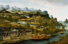 This painting, by an unidentified Chinese artist (1790-1800)