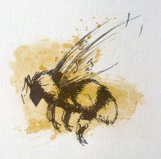 Bee Tattoo Idea by TheCostumer.deviantart.com on @deviantART