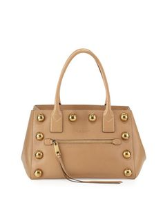 Cabochon Not So Big Apple Tote Bag, Beige by Marc Jacobs at Neiman Marcus.