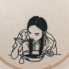 The amazing embroideries of Sheena Liam
