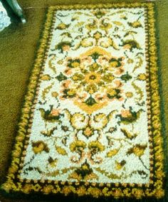 How to Make a Latch Hook Rug
