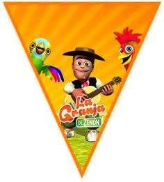 Clubsocial Candy Bar La Granja De Zenon 3 Kit Imprimible In 2020 Farm Theme Birthday Farm Birthday Farm Theme