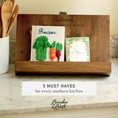 The kitchen is the heart of the southern home. It's where we gather with family and friends and enjoy good southern cooking! Here are the top 5 must haves for every Southern Kitchen: http://bourb.in/kitchen
