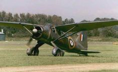 The Westland Lysander was the first British plane stationed in France during… Ww2 Aircraft, Military Aircraft, Westland Lysander, Airplane Design, Ww2 Planes, Battle Of Britain, Military Photos, Royal Air Force, Jet Plane