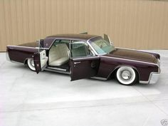I made this board for my husband! BUT this pin is for ME! I love the suicide doors! 1964 Lincoln Continental