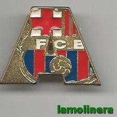 214-Pin A Escudo Colores Futbol Club Barcelona