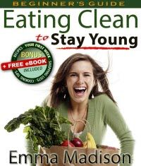 ~~ Eating Clean to Stay Young: Low Fat Plan for Better Diet, Nutrition and Weight-loss ~~ If you are finding yourself running low on energy, carrying too much weight, or suffering from poor health – it may well be that you are eating yourself old.