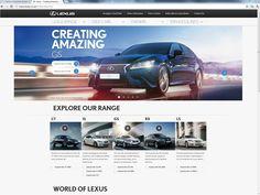Lexus, 23rd July 2012
