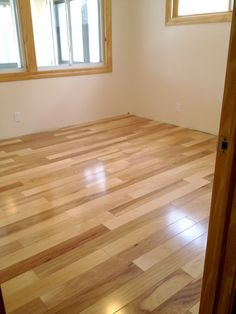 Maple laminate flooring in the #bedroom Photo compliments: Boyd H.  #maple #flooring