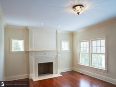 Fireplace Surround, Carpentry project done by Solution Build Group Inc.