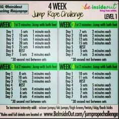 1000+ ideas about Jump Rope Challenge on Pinterest | Jump ...
