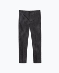 MID - RISE SKINNY TROUSERS-View all-TROUSERS-WOMAN   ZARA United States