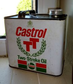 Classic Castrol Oil Can