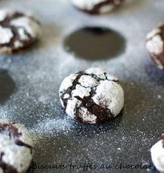 Petits sablés au chocolat - les meilleures recettes de cuisine d'Ôdélices