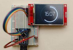 ILI9341 with Arduino Pro Mini