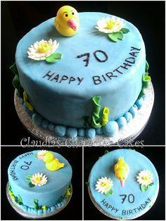 Gartenteich Torte | Pond Cake