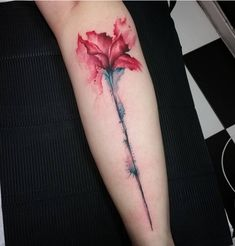 This watercolor wonder. | 31 Insanely Gorgeous Floral Tattoos