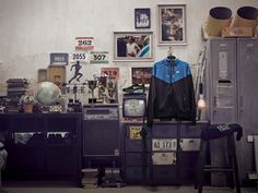 Nike sportswear vintage collection by Jay Chi, via Behance