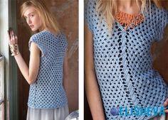 Красивые летние модели вязания крючком от VOGUE knitting | Блог elisheva.ru