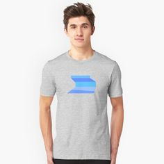 'Blue CHEMEX T-shirt.' T-Shirt by abstractee Design T Shirt, Shirt Designs, My T Shirt, V Neck T Shirt, Love Design, Tshirt Colors, Chiffon Tops, Female Models, Cover