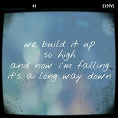 Long way down - One Direction