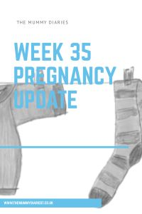 35 Weeks Pregnant – The Mummy Diaries