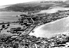 La playa de Las Canteras, 20 de marzo de 1935. Foto interactiva. miplayadelascanteras.com Tenerife, Canario, Canary Islands, City Photo, Spain, Scrapbooking, Las Palmas, Historical Photos, Volcanoes