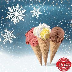 Kışın soğuğu varsa bizim de gelato'muz var! Taze meyveli gelato'larımızla soğuklara meydan okuyoruz. #AbbasWaffleAnkara #AbbasGelato #TazeMeyveler Gelato, Ankara, Waffles, Ethnic Recipes, Instagram Posts, Ice Cream, Waffle