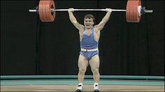 """""""Pocket Hercules"""" weightlifter - Naim Süleymanoğlu"""