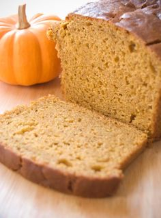 Gluten-Free Pumpkin Bread http://gluten.lovetoknow.com/Gluten_Free_Pumpkin_Bread#2